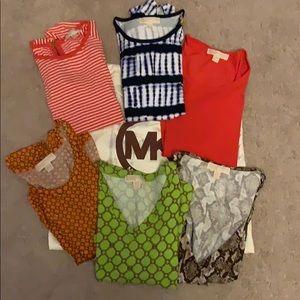 6 piece Michael Kors knit tops